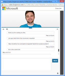 microsoft-sales-support